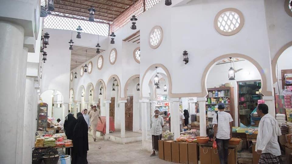افتتاح سوق الحنظل بسيئون بحلة فريدة