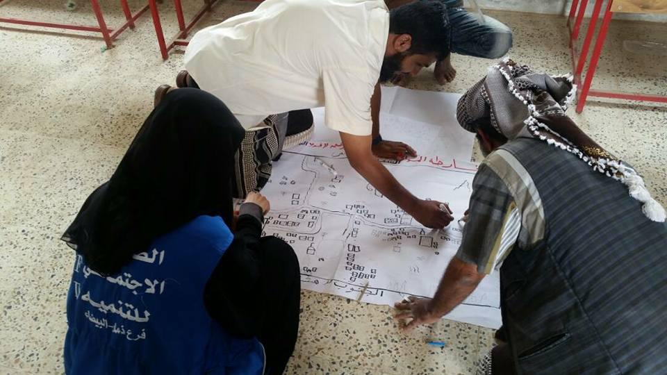 شباب روافد يدعمون تمكين مجتمعات في مكيراس