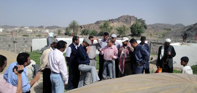 مشروع مياه رزيقة آل غشام يفتح آفاقاً واسعة في مشاريع الشرب في اليمن